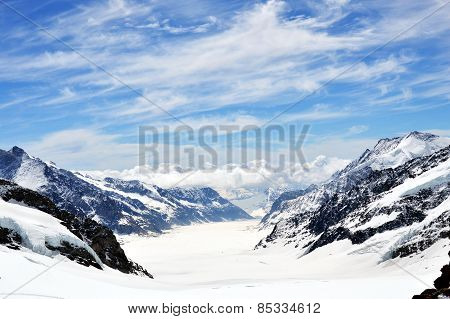 Jungfrau mountain Switzerland