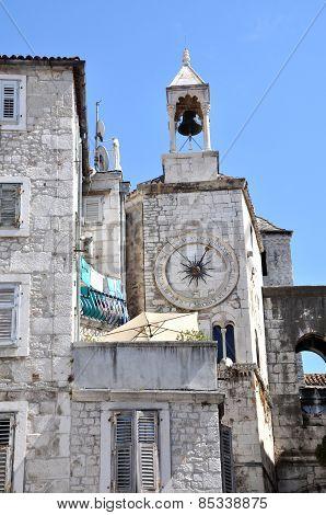 Medieval Stone House In Split, Croatia