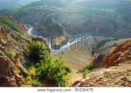 Mountain Landscape In Kurdistan, Turkey
