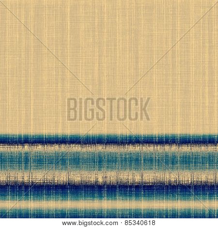 Vintage texture with space for text or image. With different color patterns: yellow (beige); brown; blue; cyan