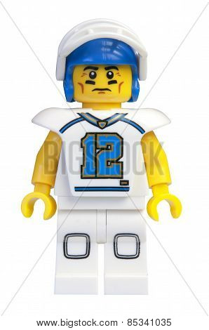 Football Player Lego Minifigure