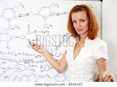 Sexy Chemistry Teacher