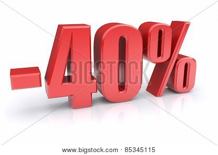 40% Discount