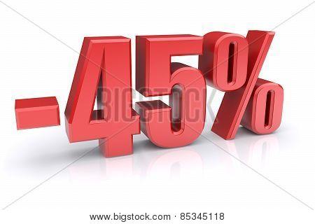 45% Discount