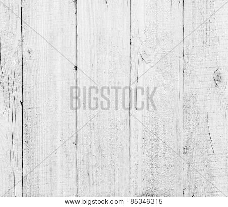 wood planks white textured background