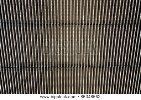Metal Iron Background (detail From Escalator - Texture)