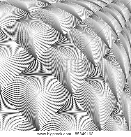 Design Diamond Convex Texture