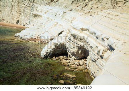 White Cliffs At The Scala Dei Turchi