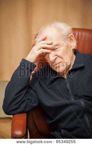 Old Man With A Headache