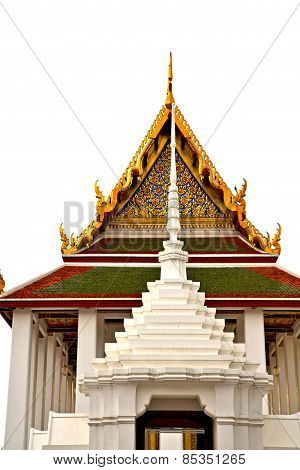 Roof  Gold    Temple   In    Incision Of The