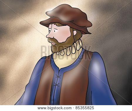 Medieval fellow