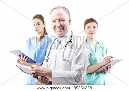 Three Competent Doctors Ready To Help