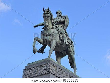 Monument to Prince Yuri Dolgoruky