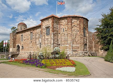 Norman Castle In Colchester