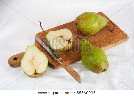 Still Life With Pears..