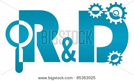 R And D - Research And Development Logo