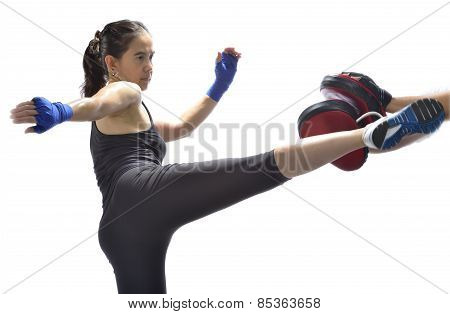 Woman ( Muay Thai)