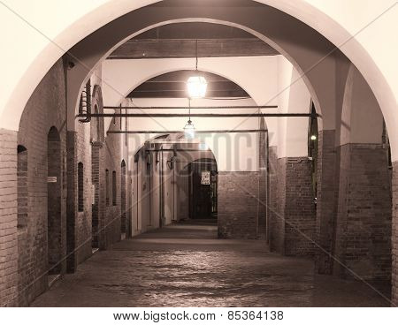 Ferrara (italy), Portico