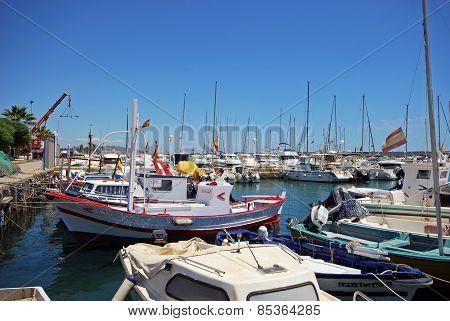 Fishing harbour, Garrucha.