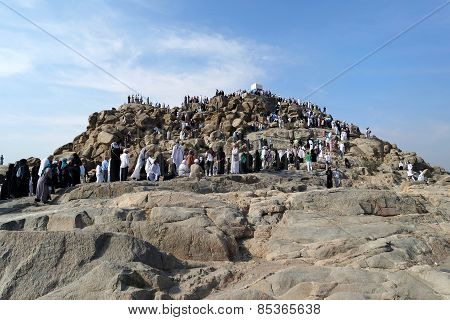 Mount Arafat Of Mercy (jabal Rahmah)