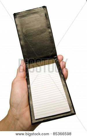 Blank Notepad Ready For Your Notes