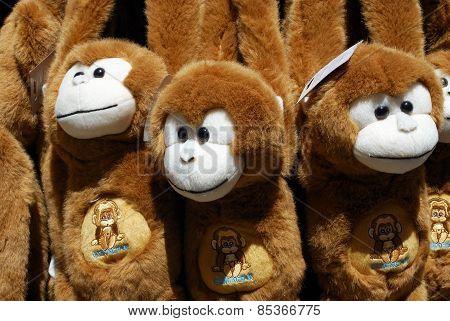 Souvenir Barbary Apes, Gibraltar.