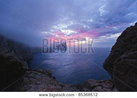 Cap De Formentor At Sunset - Balearic Island Majorca - Spain