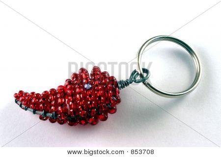 Chilli key ring