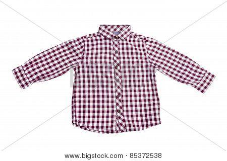 Dress. Fashion Shirt Isolated