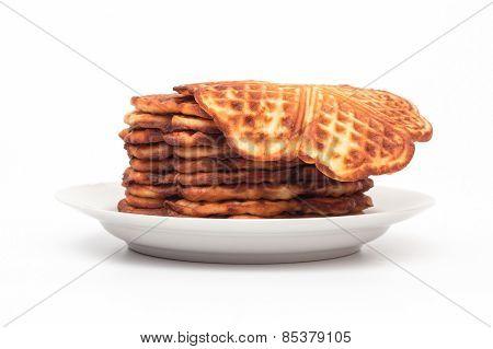 Homemade waffles.