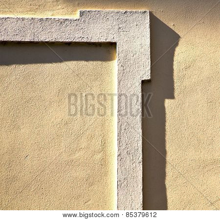 Milan  In Italy Old Church Concrete Wall  Brick        Abstract  Background Stone