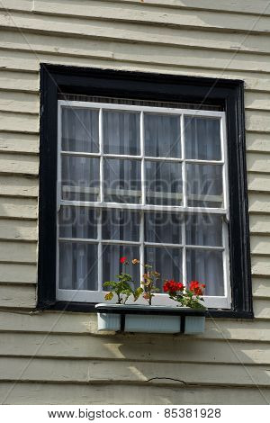 Window In Wooden House. Hastings. England
