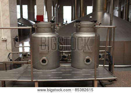 Equipment Of A Brewery