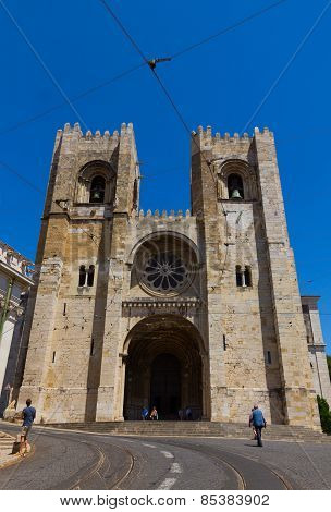 Se cathedral, Lisbon, Portugal