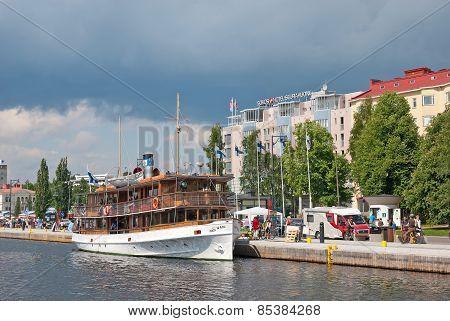 Savonlinna. Finland. Passenger Port