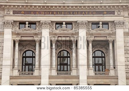 Hofburgtheater (imperial Court Theater) In Vienna, Austria