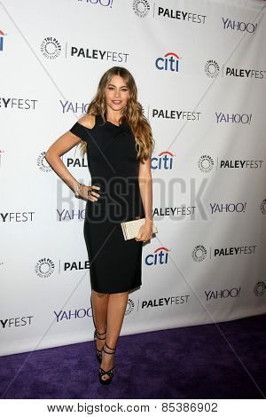 LOS ANGELES - MAR 14:  Sofia Vergara at the PaleyFEST LA 2015 -