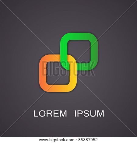 Vector illustration of abstract symbols image