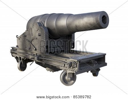Old iron cannon