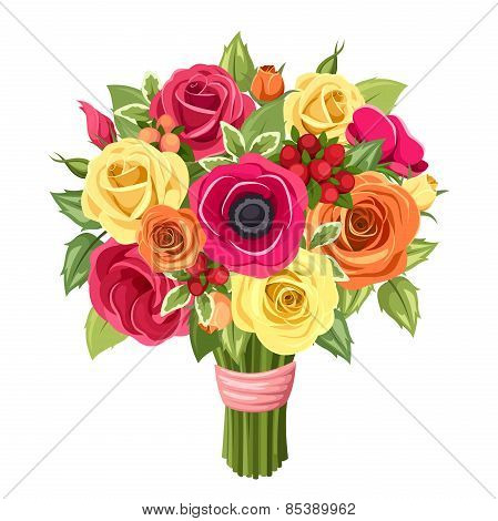 Roses_flowers_bouquet_5_eps8.eps