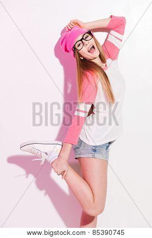 Fashionable Teen.