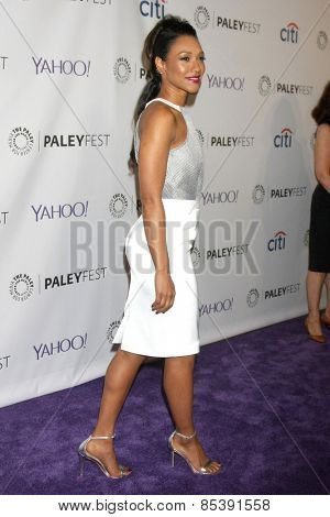 LOS ANGELES - MAR 14:  Candice Patton at the PaleyFEST LA 2015 -
