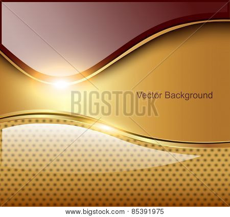 Abstract business background, elegant vector illustration.
