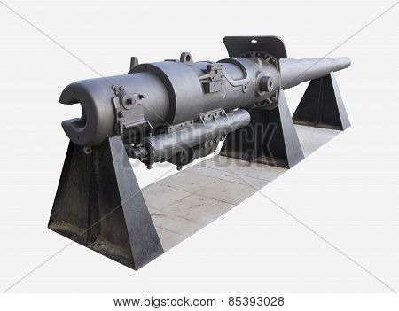 Isolated old cannon