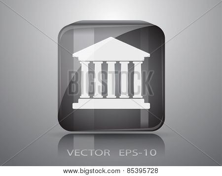 icon of bank building