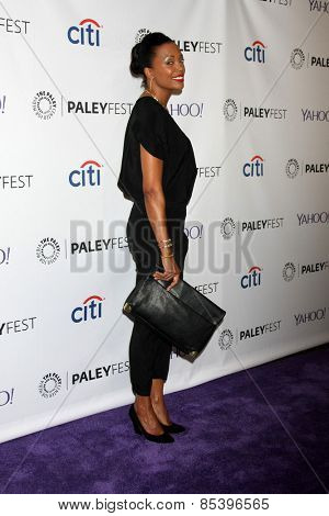 LOS ANGELES - MAR 14:  Aisha Tyler at the PaleyFEST LA 2015 -