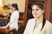 picture of housekeeper  - Hotel room service - JPG