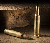 stock photo of piercings  - Small rifle cartridges considered armor piercing by some - JPG