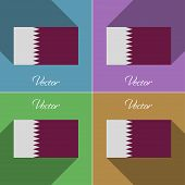 picture of qatar  - Flags of Qatar - JPG