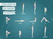 stock photo of namaskar  - Yoga - JPG